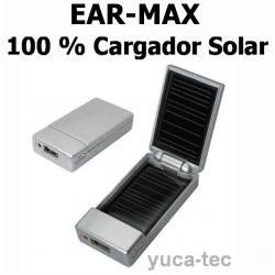 100 % Cargador Solar - EAR MAX® Fuerte Recargable